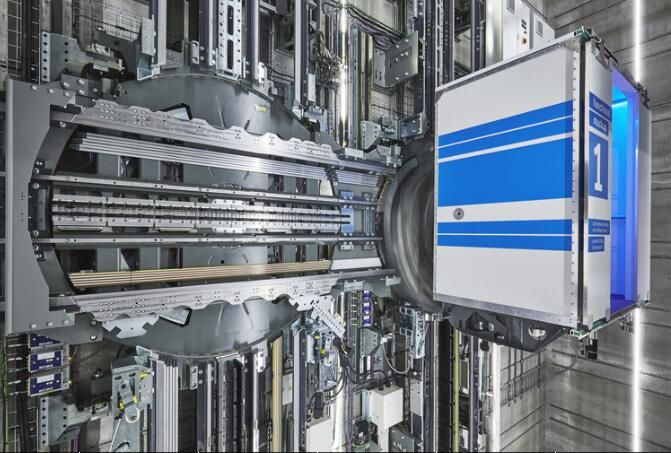 """Do you remember the universal elevator in movie """"Charlie and the chocolate factory""""?NowGerman heavy industry group—ThyssenKrupphas make it come true!In fact, Thyssenkrupp elevator has launched amagnetic levitation conceptelevator as early as 2014."""