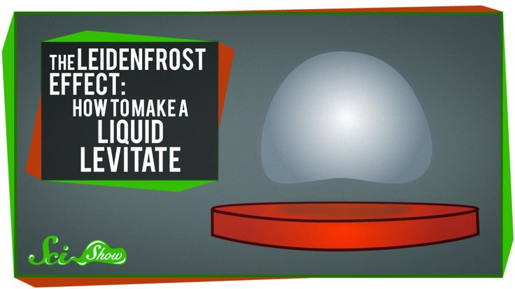 SciShow Explains the Leidenfrost Effect, Which Causes Water to Levitate on Pockets of Gas Due to Extreme Heat