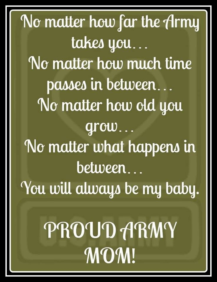 This year my son is off to the Army, something he's wanted to do since he was just a little tot and now his dream is coming true, I'm proud of him but very scared for him, I'm use to seeing him everyday for 18 yrs.  now, I'm always worried about him an the funny thing is, he hasn't even left home yet. Tell the truth, I'm really not sure, how I'm going to deal with it when the time comes, in just a little over a month, when I send him off, to different way of life. I'm a Very proud of him…