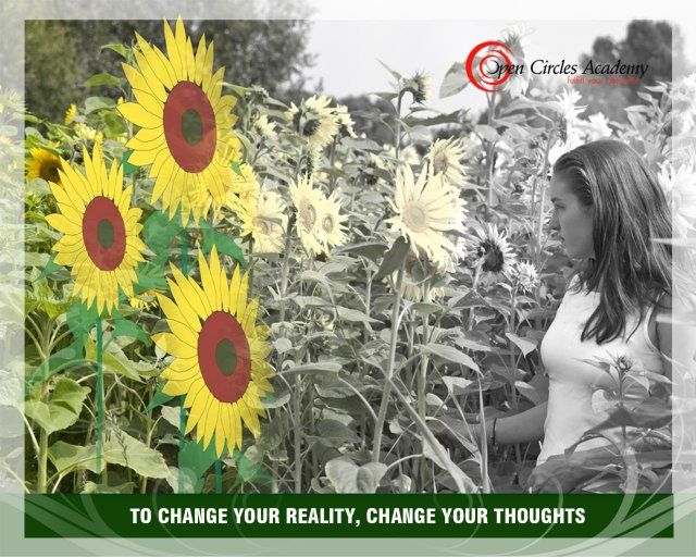 My intention for today is: To change your reality, change your thoughts