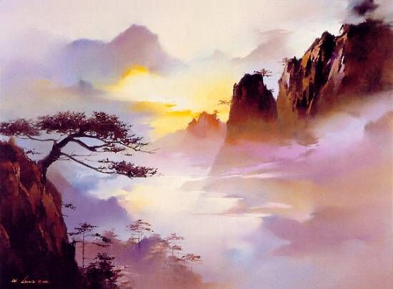 'Approach of Night' by Hong Leung