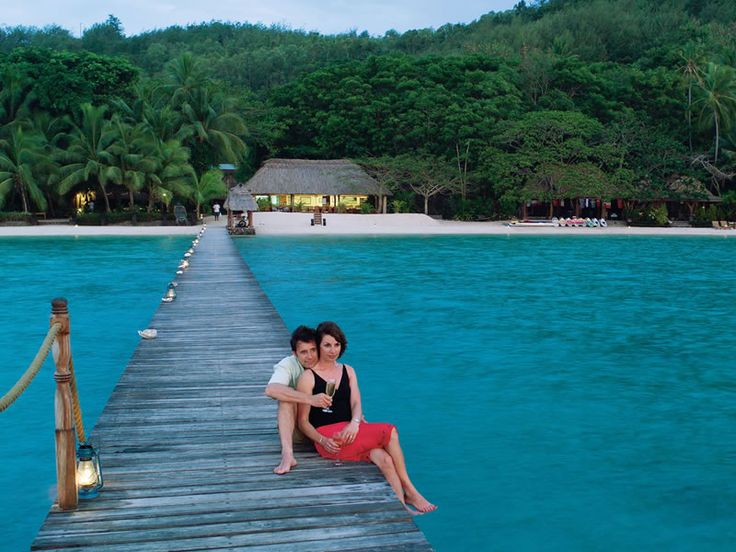 Fiji is a lovely destination for a honeymoon and Turtle Island Resort is your home away from home