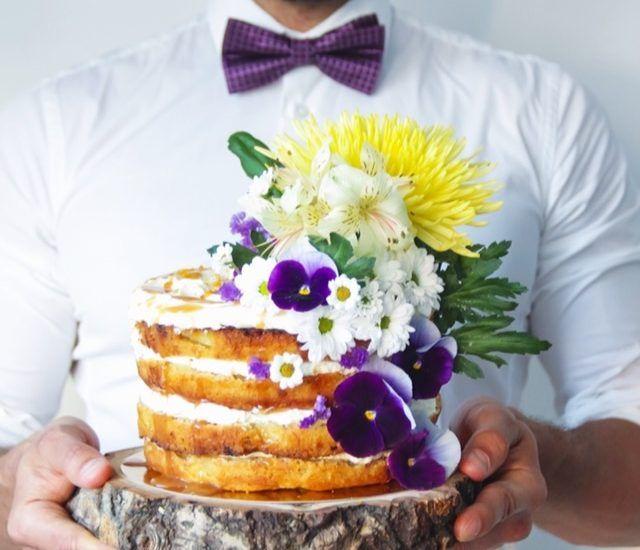 торт Колибри от Джейми Оливера
