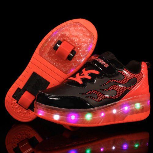 Led Heelys Propel Rayure Lumières Skate Chaussu... XGN6qhD