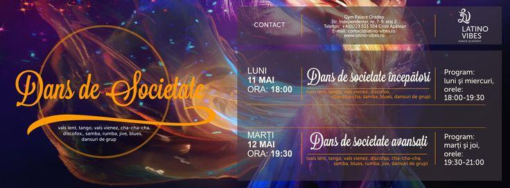 Curs de dans de societate Oradea mai 2015
