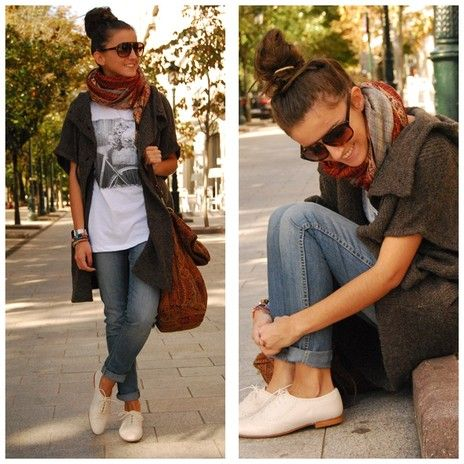 //Fashion, Casual Outfit, Oxford Shoes, Style, Oxfords Shoes, Jeans, Cute Outfit, T Shirts, Fall Photos