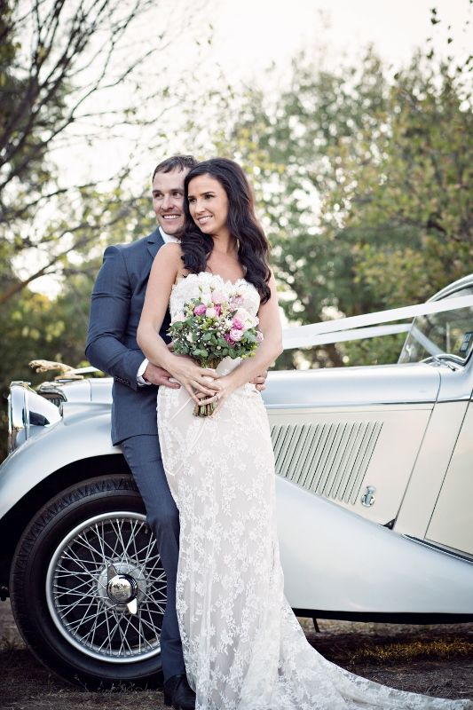 Andrea & Kade's wedding at Chateau Dore by Terri Basten Photography | Cars by Chateau Dore | Styling by Pretty Little Details | Hair & Makeup by Honeyeater www.chateaudore.com.au