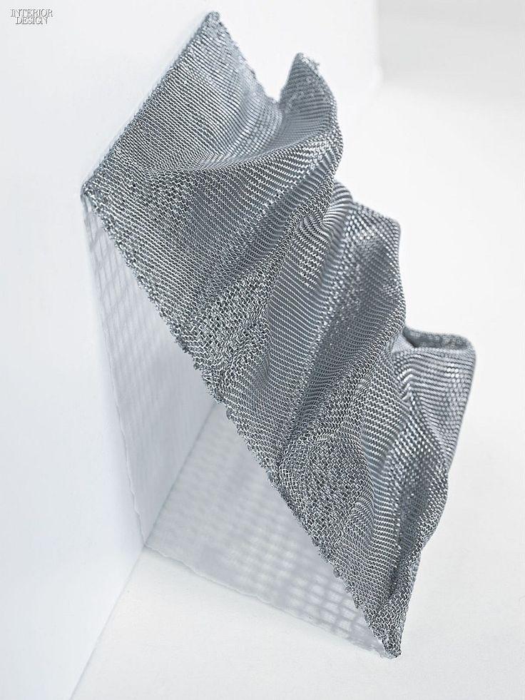 MCX Matter: 5 Inventive Mesh Materials | Companies | Interior Design. Material: Montana. Manufacturer Haver & Boecker. Composition. Stainless steel.
