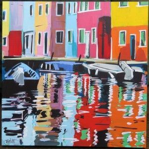 """Murano Waterfront"" by Terry Wood"