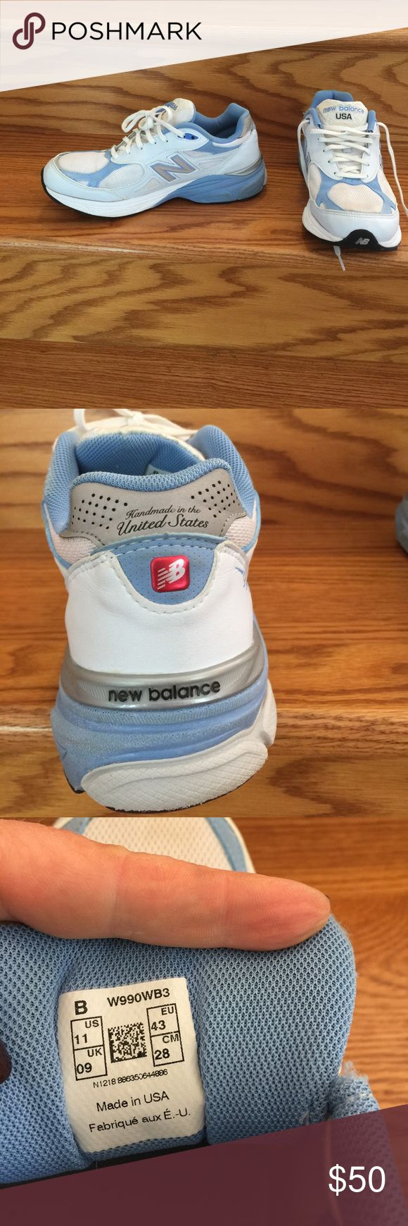 Sneakers New Balance, Made in USA, 990 style, size 11, used but in good condition New Balance Shoes Sneakers