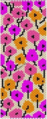 Magic Beads: Patterns for Flat Peyote Bracelet