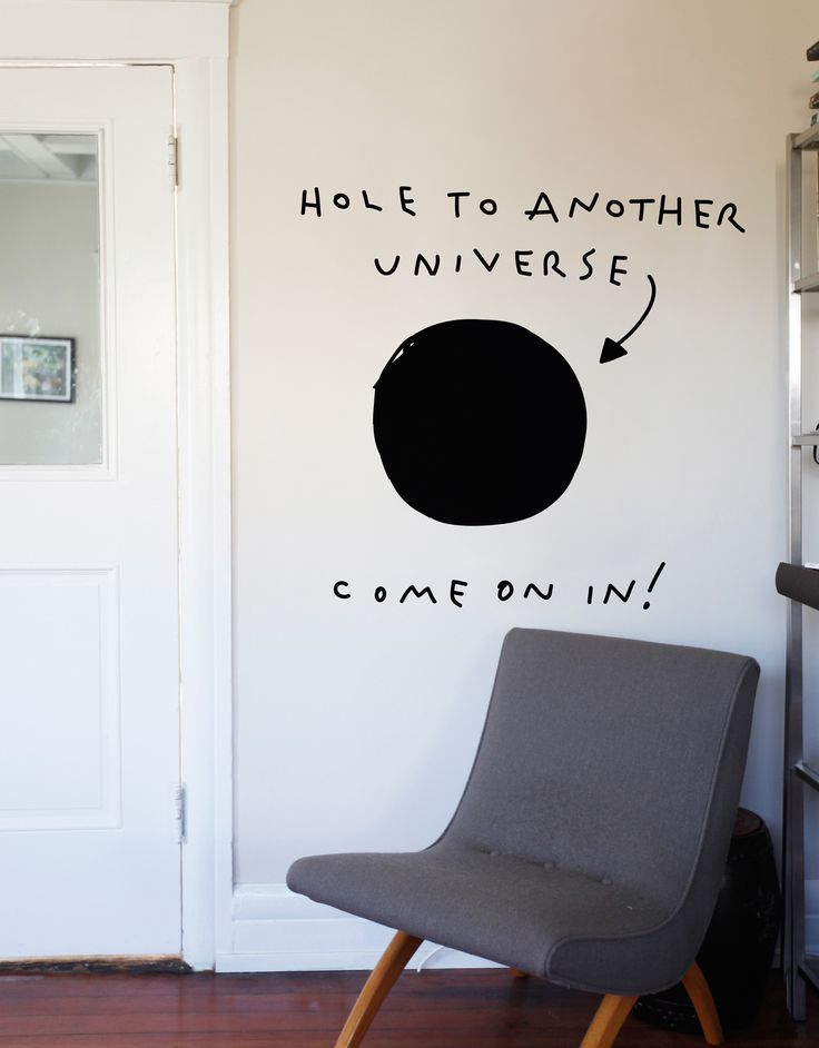 hole to another universe - Wall Painted Designs