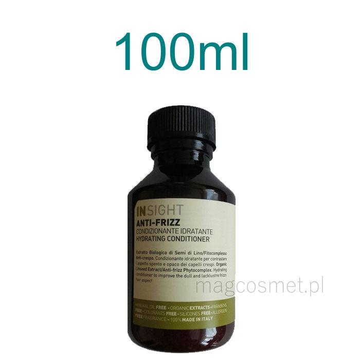 Insight Anti Frizz Odżywka Nawadniająca do Włosów 100ml Kosmetyki do włosów - odżywki- Sklep Magcosmet