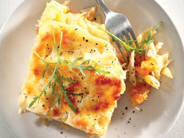 Hoender-lasagne
