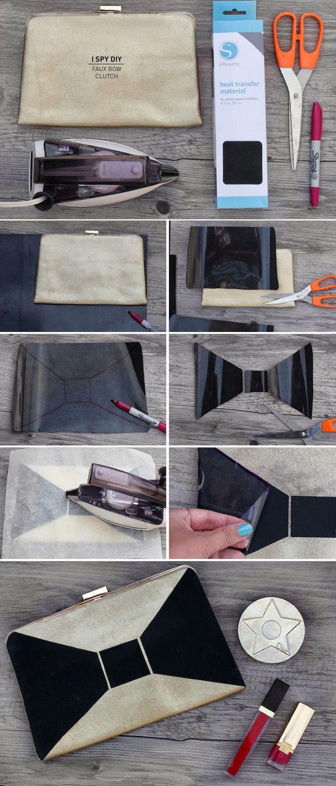DIY | Faux Bow Clutch | #f21accessorize