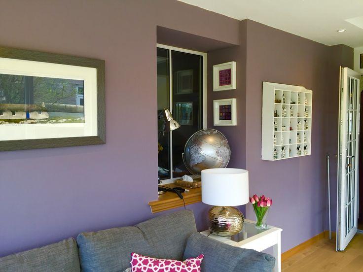 Sunroom in Farrow and Ball Brassica Estate Emulsion