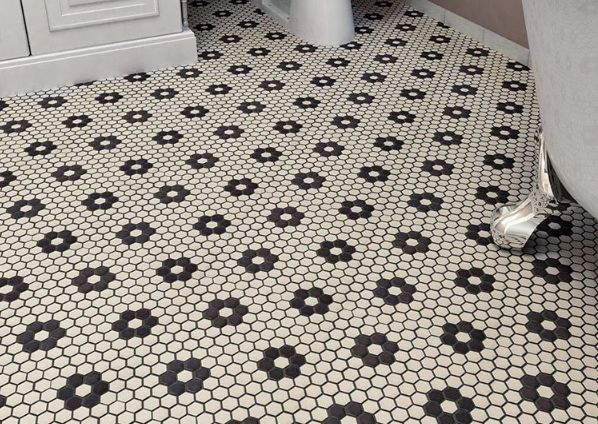 Best 25 Penny Tile Floors Ideas On Pinterest Back Pennies Floor And Designs