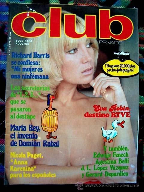 REVISTA CLUB PRIVADO Nº 6 / EVA ROBIN, ISELA VEGA, AZAFATAS DEL