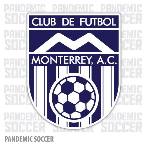 Rayados Monterrey Retro Futbol Vinyl Sticker Decal Calcomania