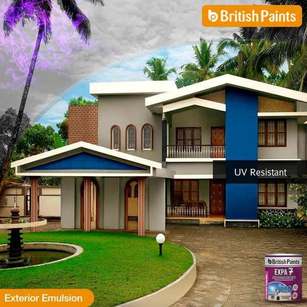 #Expa7 comes with 'cool roof advantage'. It reduces the surface temperature by up to 10' C #BritishPaints Know more about Expa 7 here: http://bit.ly/1qGPqOE