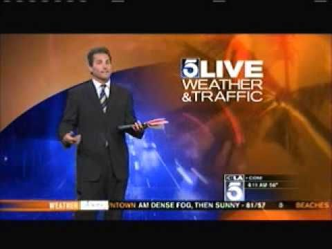 I Pranked Henry DiCarlo KTLA Los Angeles Weather Man - Hugh Janus Birthday Prank - YouTube
