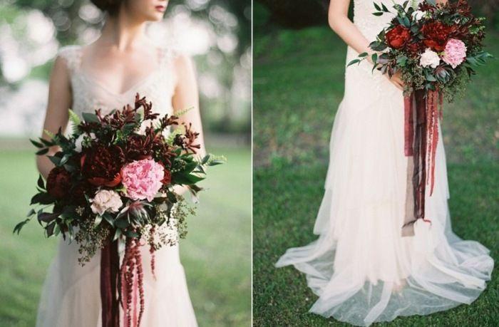 Bouquet mariée: 70 idées de fleurs pour un mariage en automne!