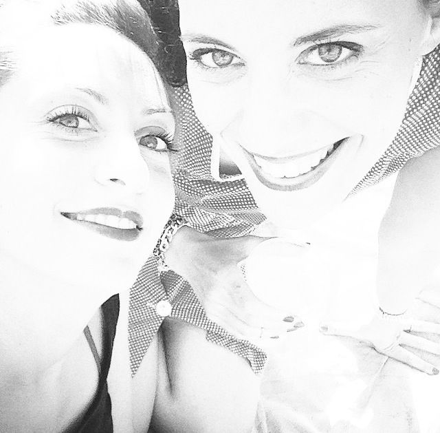 Federica my cousin/friend and me