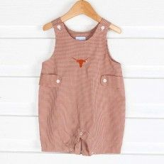 Texas Gingham Jon Jon | Classic baby clothes - Smocked Auctions
