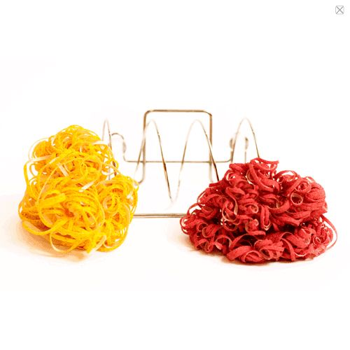 Spaghetti scrubs- it replaces sponges and soap & is antibacterial
