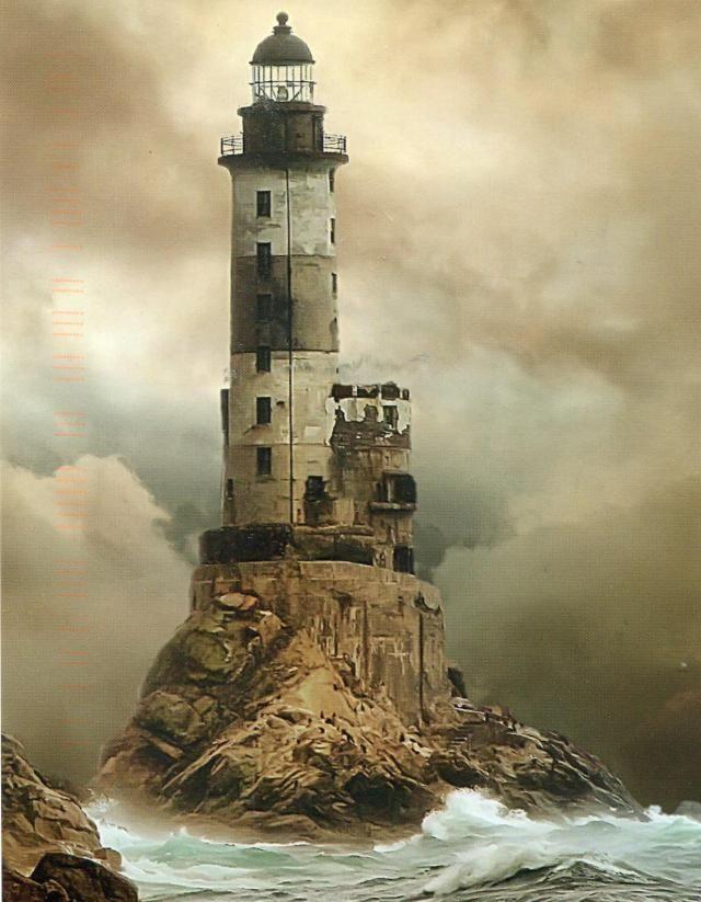 Le phare d 39 aniva rock russie lieux abandonnes partir etranger monde beaux plus - Les plus beaux arbustes persistants ...