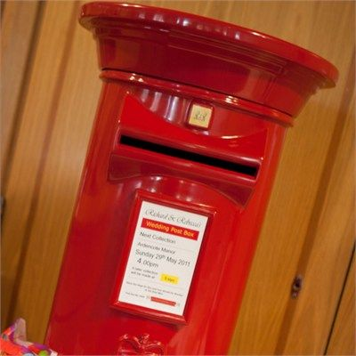 Wedding Post Box... We need to get this as a card box!