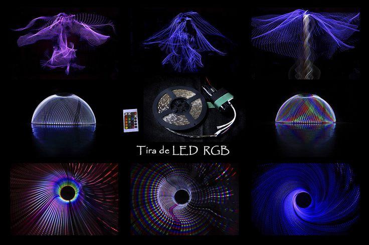 https://flic.kr/p/ApcZvr | Probando la tira de LED | La tira de LED es otra…