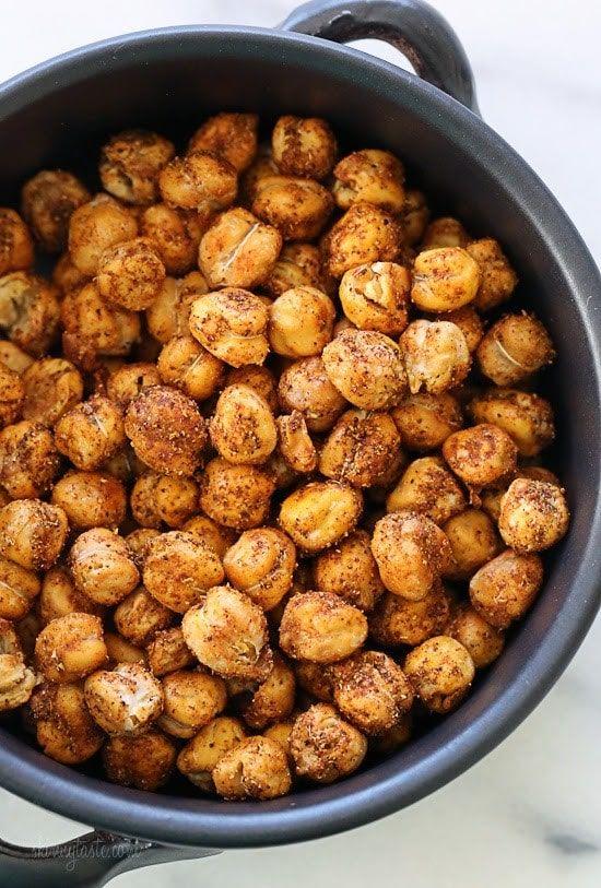 Roasted Chickpea Snack   – chickpeas