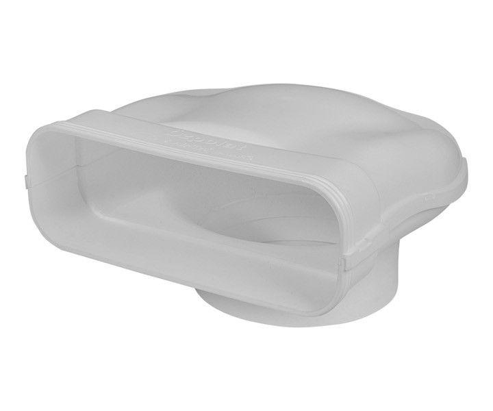 Umlenkstuck Mit Stutzen Silent Fk230x80 Mm Abluft Dunstabzugshaube Und Kuchen Dunstabzugshauben