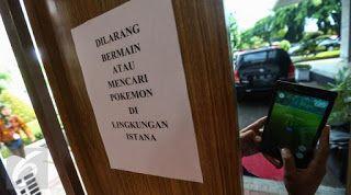 berita: Dilarang Keras Main Pokemon Go Tempat-tempat Ini !...