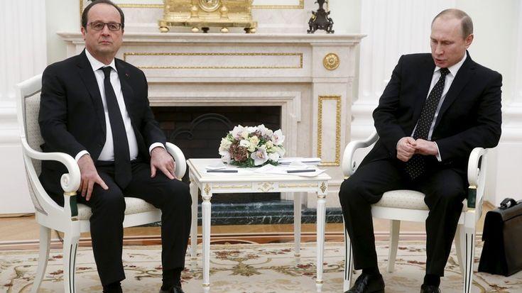 Олланд намерен обсудить с Путиным Украину, несмотря на разногласия по Сирии http://kleinburd.ru/news/olland-nameren-obsudit-s-putinym-ukrainu-nesmotrya-na-raznoglasiya-po-sirii/  Франсуа Олланд заявил о своем желании составить «дорожную карту при участии всех сторон», благодаря которой Украина сможет восстановить контроль над своей границей с Россией, пишет Le Figaro. Во время телефонной беседы с украинским президентом Петром Порошенко французский лидер напомнил ему о своем намерении…