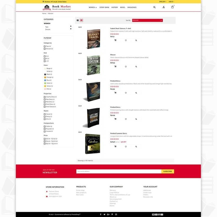 7 best Book Market - The All in one Book Market - PrestaShop - travel budget template