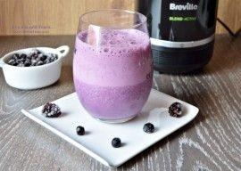 Milkshake cu fructe de padure