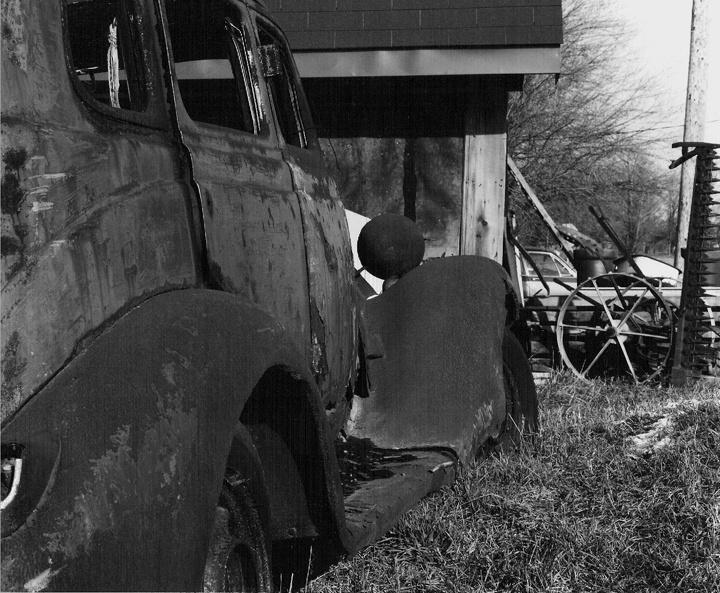 Sleeping Rust ... Southern Ontario 1983. © j. marshall craig