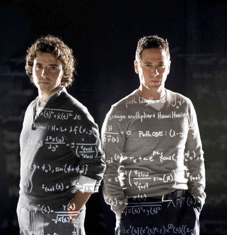 Charlie Epps & Don Epps from Numb3rs - David Krumholtz & Rob Morrow