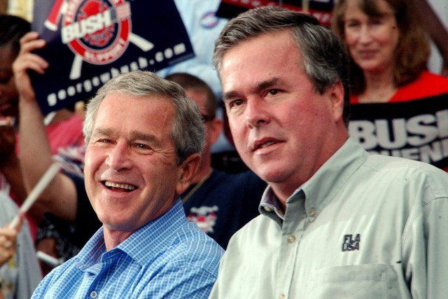 Jeb Bush wants us to believe poverty in America is the result of failed liberal policies rather than the false promises of trickle-down economics, but yet he himself...