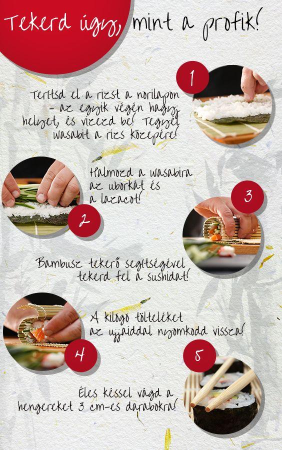 Hozd el otthonodba a Távol-Kelet ízeit! Sushit készíteni például közel sem olyan bonyolult, mint gondolnád. Kipróbálnád? #TescoMagyarország #nemzeközikonyha #nemzetkozikonyha #konyha #recept #sushi #maki #nigiri