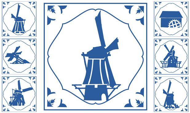 Wie maalt om de molens - Verhalend ontwerp voor groep 7 en 8 over molens en hun geschiedenis. Ook lessen voor groep 5 en 6 over korenmolen, watermolen, poldermolen en houtzaagmolen.