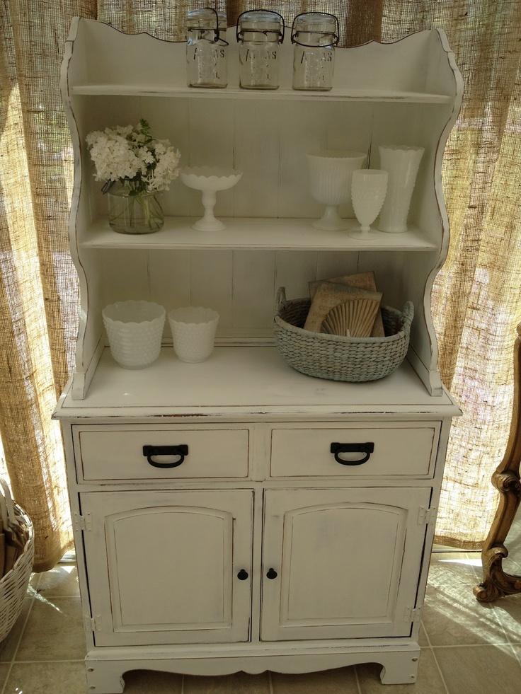 Jentiques White Farmhouse Hutch For Sale 475 Local Vintage Merchant