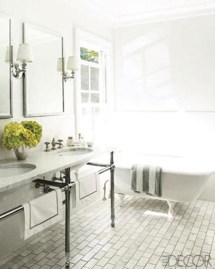 J. Douglas Design: Classic Bathroom Charm Endures