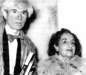 Maruja Mallo y Andy Wharhol. La pintora sin sombrero