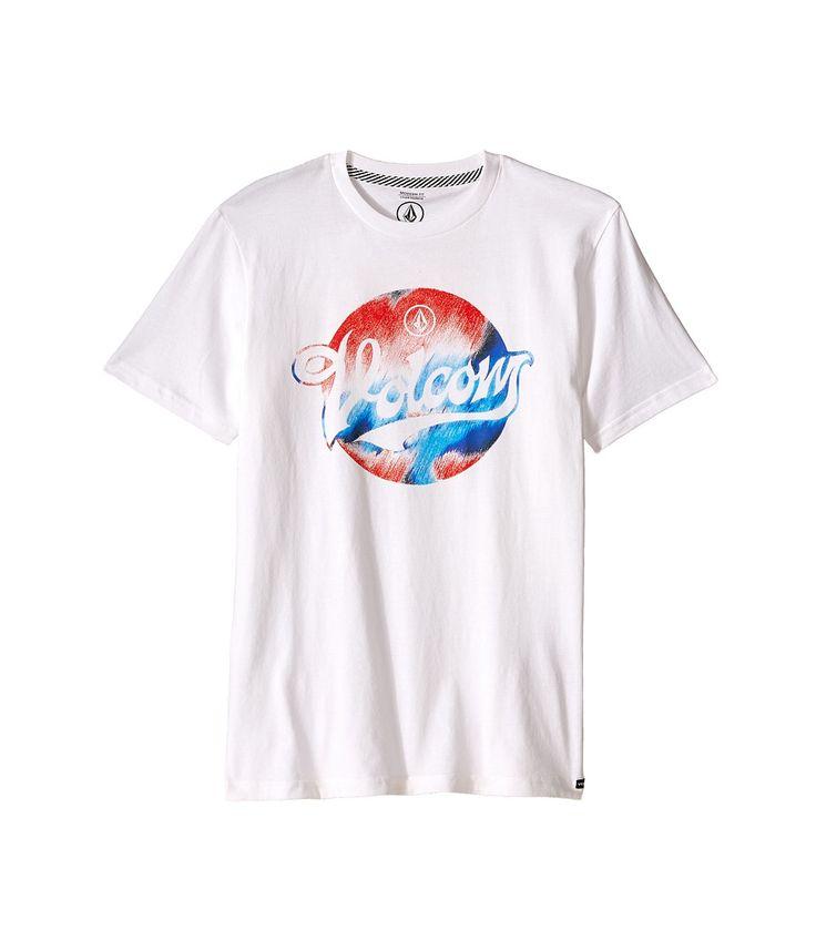 Volcom Men's Electrode Short Sleeve T-Shirt in white