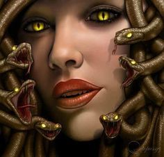 beautiful medusa greek mythology - Google Search