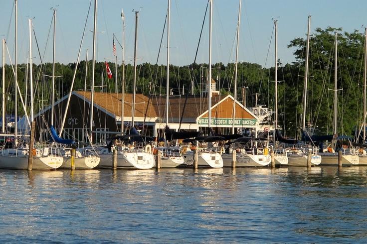 Genesee River Boat Marina in Charlotte NY: Photo