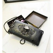 Pääkallo lompakko, eri värivaihtoehtoja